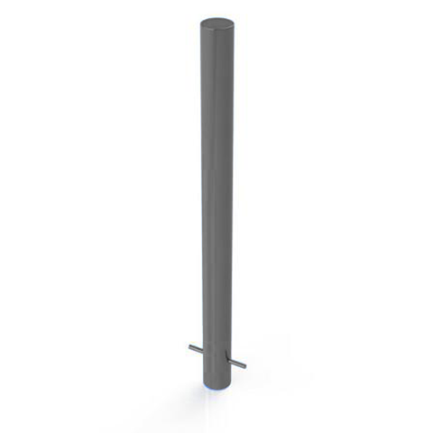 Galvanised Static Security Post / Bollard (114mm x 1500mm) *Best Seller*