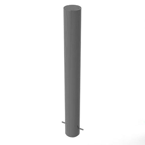 Galvanised Static Security Post / Bollard (168mm x 1500mm)