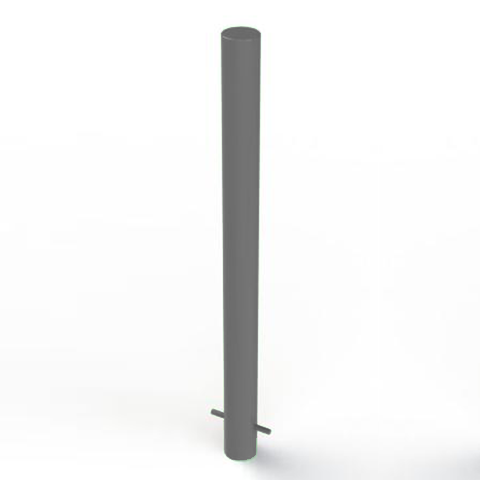 Galvanised Static Security Post / Bollard (90mm x 1250mm)