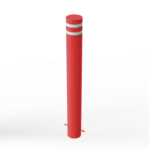 Powder Coated Static Security Post / Bollard (168mm x 1000mm)