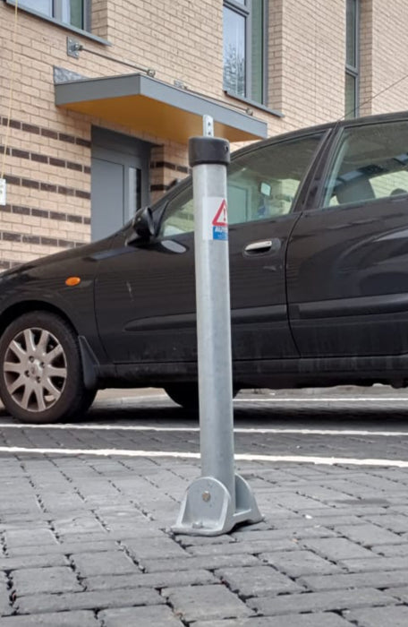 Fold Down Parking Post Toplok Security Post