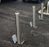 Retractapost GL Stainless Steel Telescopic Security Post (745mm tall)