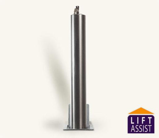 Rhino Stainless Steel Lift Assist Telescopic Bollard