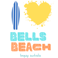 Load image into Gallery viewer, Bells beach heart eco tee