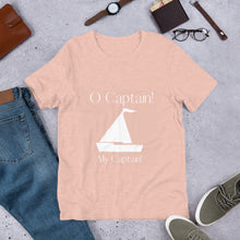 Load image into Gallery viewer, O Captain! poet tee