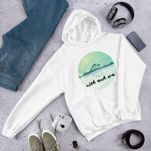 Load image into Gallery viewer, Wild Seas logo hoodie