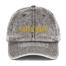 Load image into Gallery viewer, Salty girl sun cap