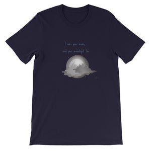 Blue moon poet tee