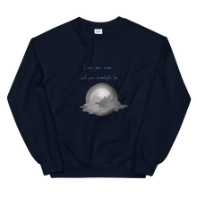 Load image into Gallery viewer, Blue moon poet sweater