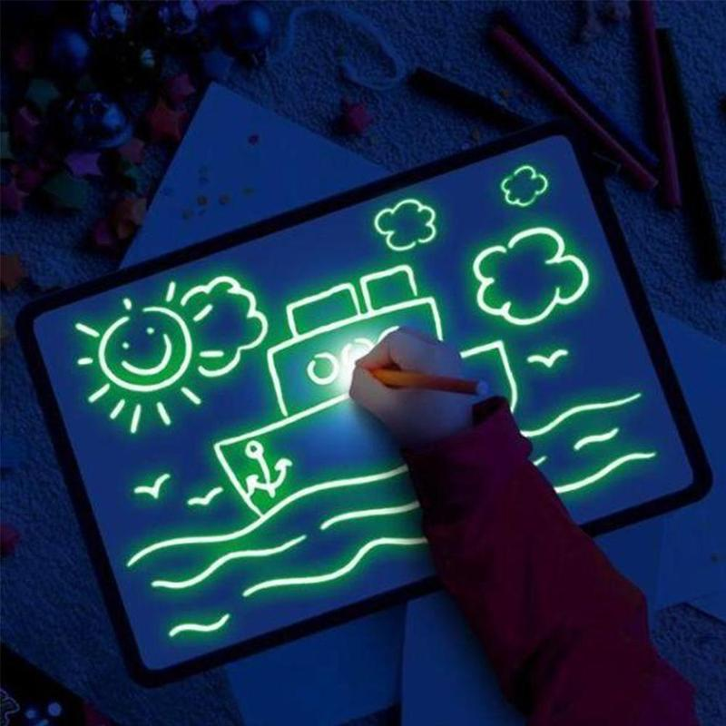 Night Drawing Pad - Fun And Developing Toy - LightDrawingPad.com