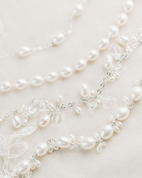 Pearl Bridal Bracelet by Sarah Walsh Bridal Jewellery Ontario
