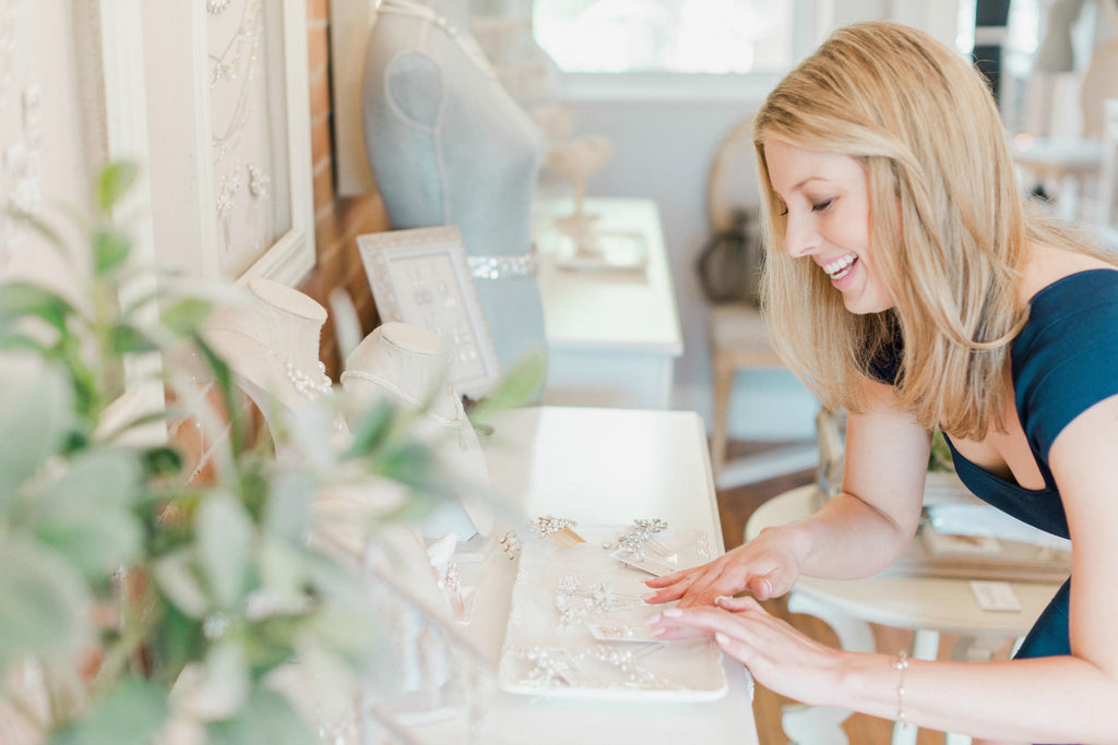 Sarah Walsh Bridal Jewellery Studio, Ottawa Canada The Glebe