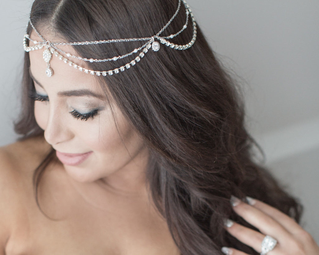 Boho Bridal Head Chain
