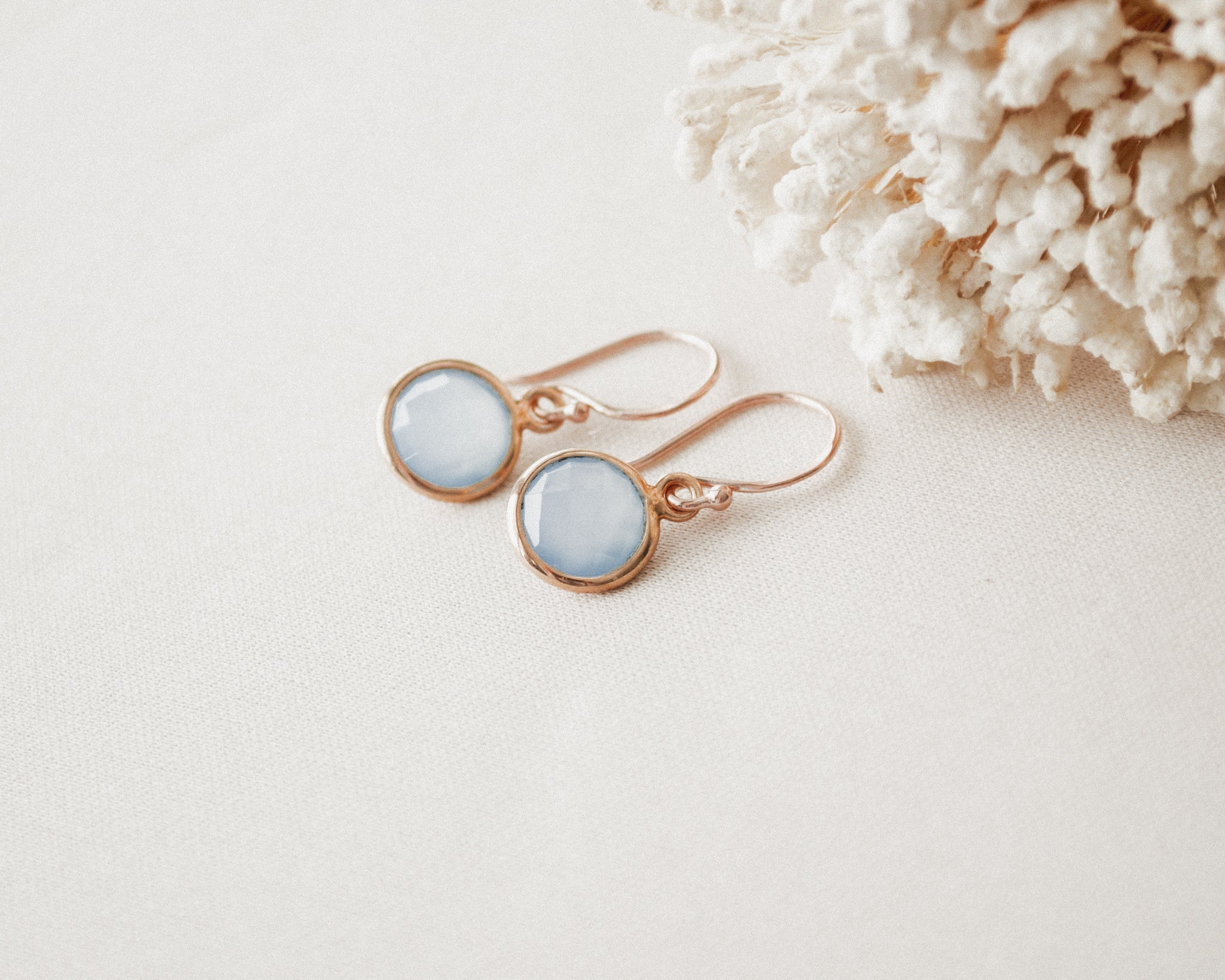 Blue Chalcedony Drops