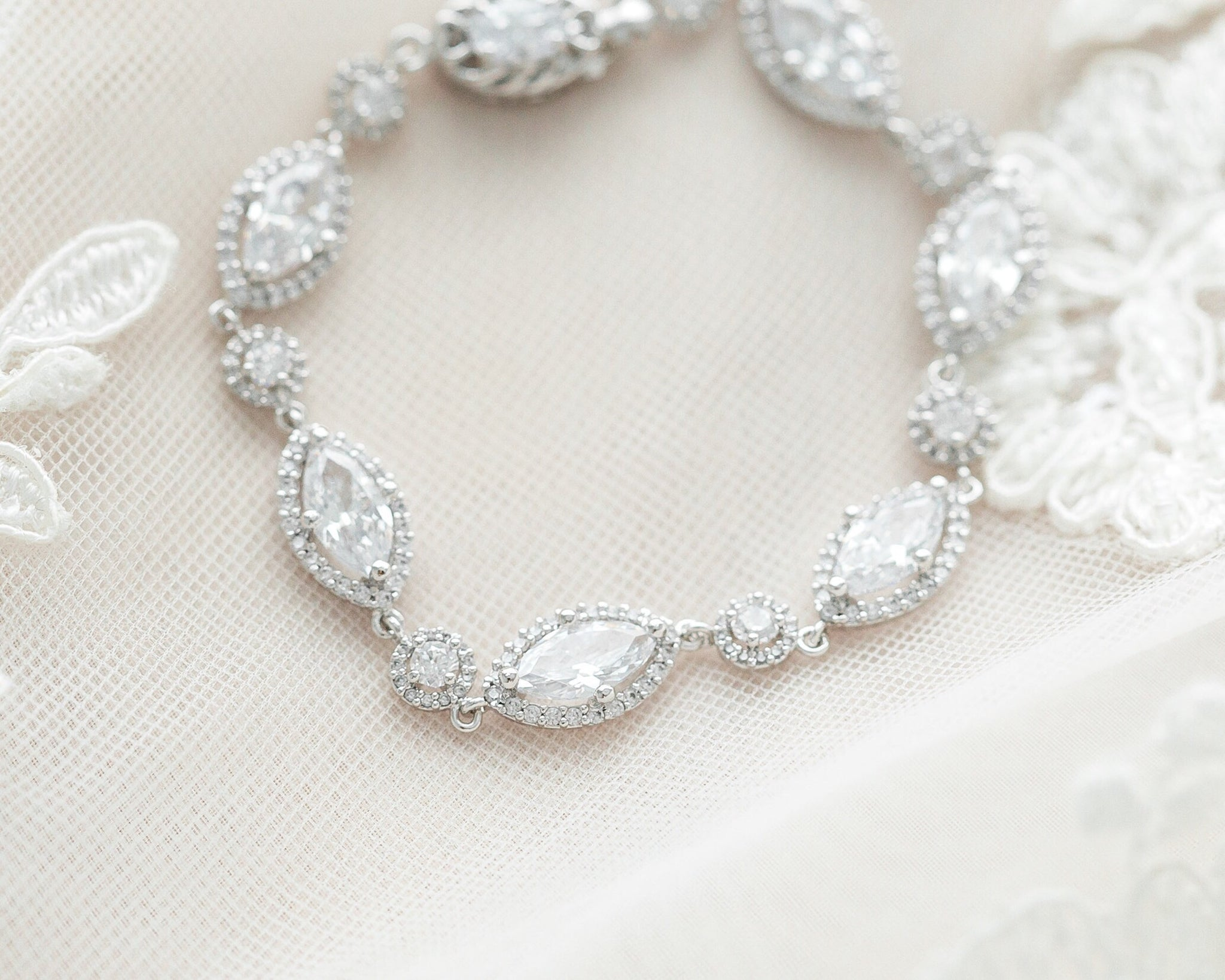 Crystal Marquise Bracelet