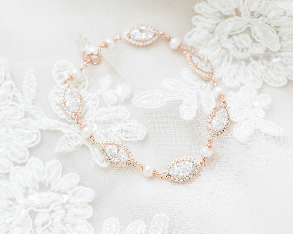 Pearl Marquise Bracelet