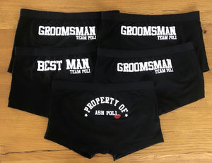 Property Of Briefs / Groomsmen Briefs
