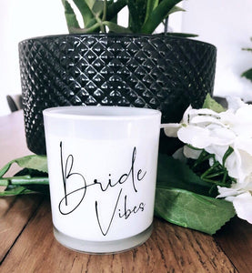Large Luxe Candle - Bride Vibes
