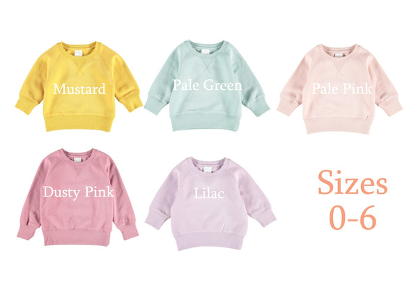 Kid's Personalised Jumpers