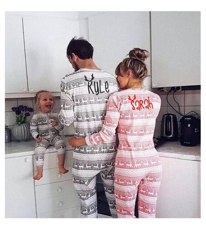 Matching Family Christmas Pajamas - Onesie