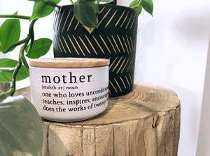 Large Soy Candle  - Mother