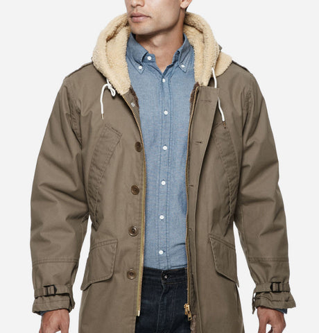 Tan Barbour jacket