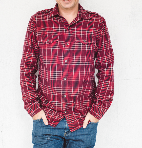Emery Plaid Button-Up