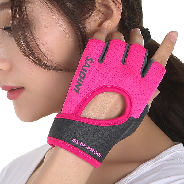 Female Fitness Sports Gloves For Gym