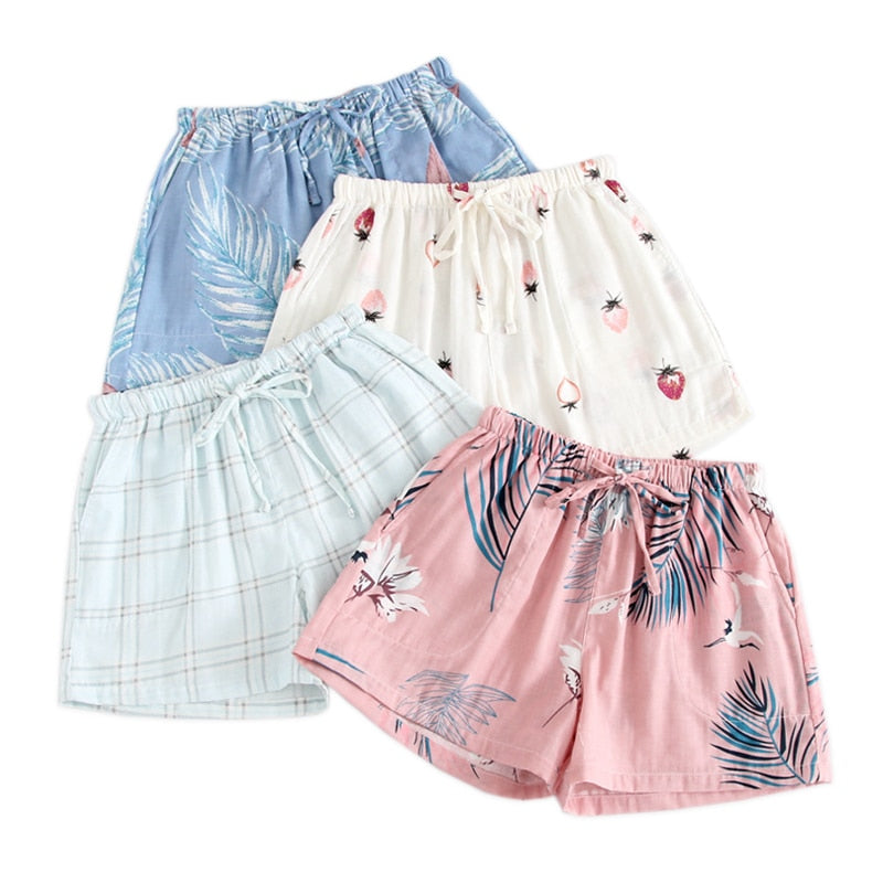 Women Shorts sleep home pajamas