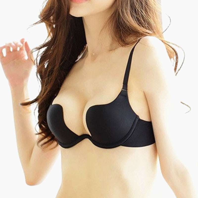 Backless Bra Ultra-low-cut Underwear Brassiere