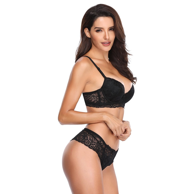 Sexy Lace Push Up V-style t-shirt Bra
