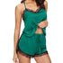 Women Trim Satin Cami Top Nightwear Sets