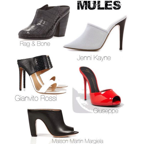 Shoes ~ Mules
