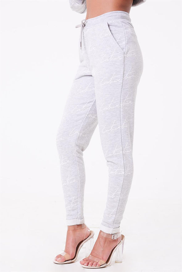 SIGNATURE REPEAT PRINTED JOGGERS