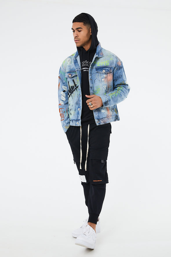 COUTURE X BOOGI LTD EDITION DENIM JACKET