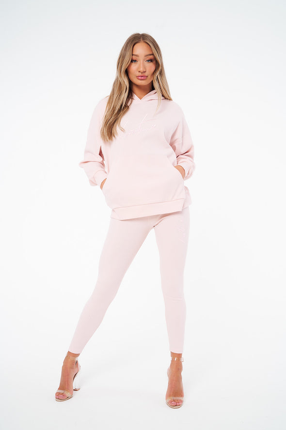 COUTURE RIBBED TWINSET HOODIE