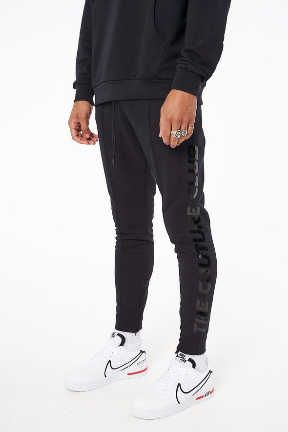HIGH SHINE PREMIUM SEAM DETAIL JOGGERS