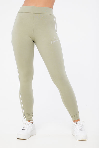 ESSENTIAL PIPED LEGGINGS