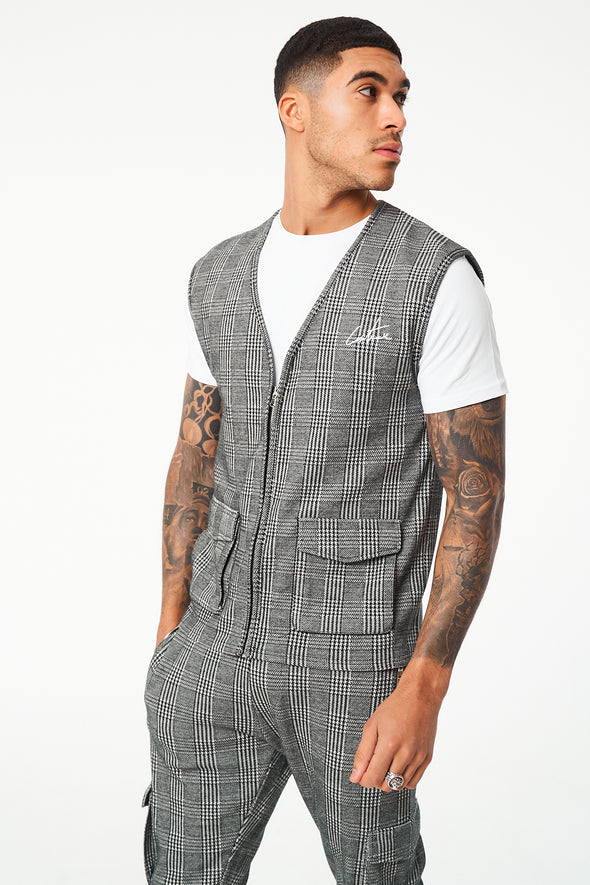 CHECK UTILITY ZIP THROUGH GILET