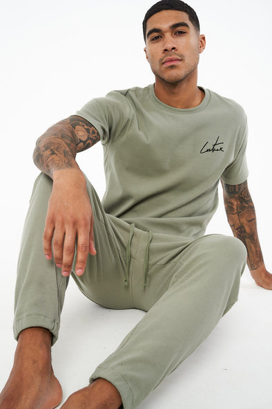 COUTURE LOUNGE FITTED T SHIRT