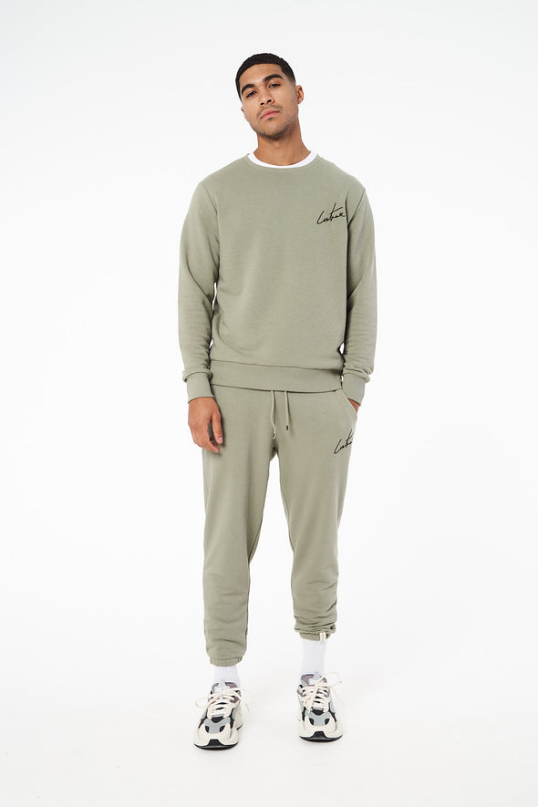 ESSENTIAL LOOSE CROPPED JOGGERS