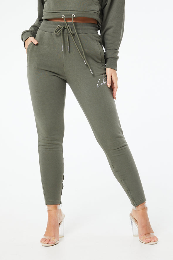 COUTURE ESSENTIAL ZIP JOGGERS