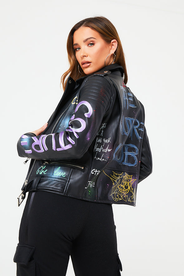 COUTURE X BOOGI LTD EDITION LEATHER JACKET