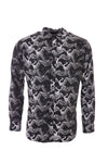 HERRING PRINT LS RESORT SHIRT