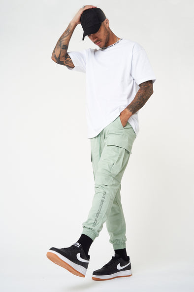 COUTURE RACER CARGO POCKET PANTS