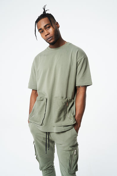 CARGO POCKET T-SHIRT