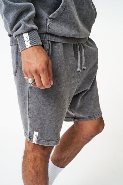 ESSENTIALS DROPPED CROTCH SHORTS