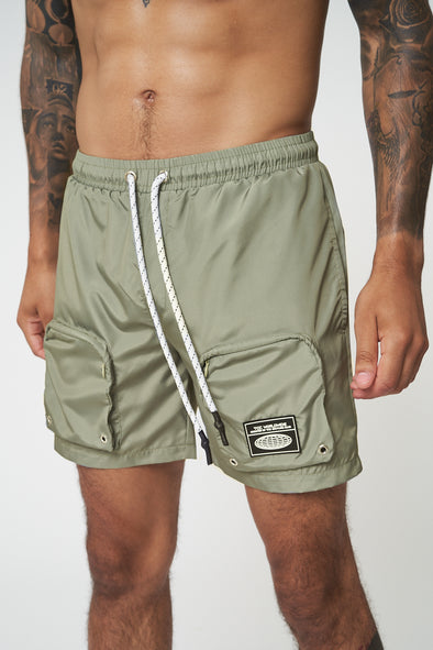 UTILITY POCKET SWIM SHORTS