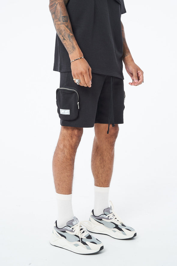 3D CARGO POCKET SHORTS