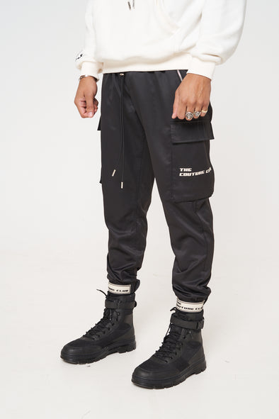 RUBBER BADGE DETAIL CARGO PANT
